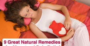 9 Great Natural Remedies for Menstrual Pain Relief