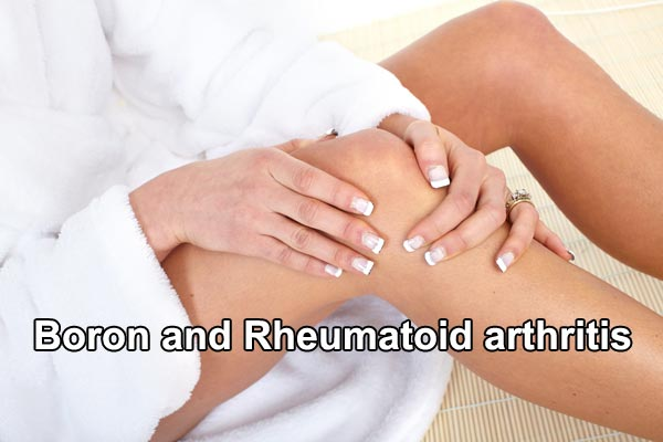 Boron and Rheumatoid arthritis