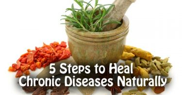 5 Steps to Heal Chronic Diseases Naturally