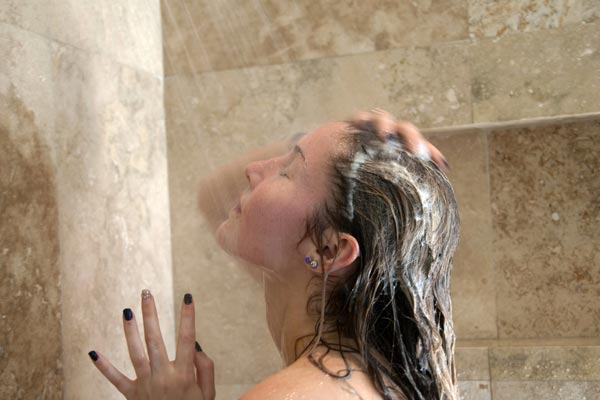 Showering with fibromyalgia